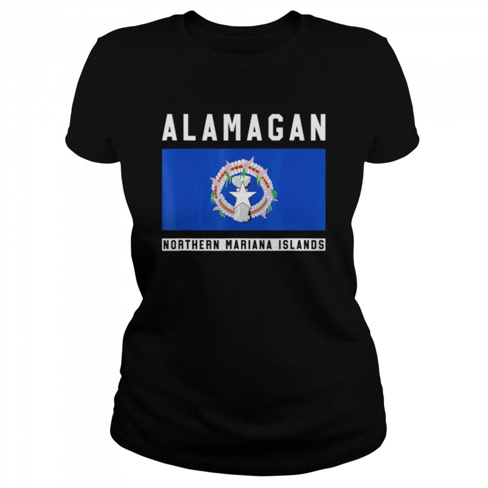 Alamagan Northern Mariana Islands  Classic Women's T-shirt