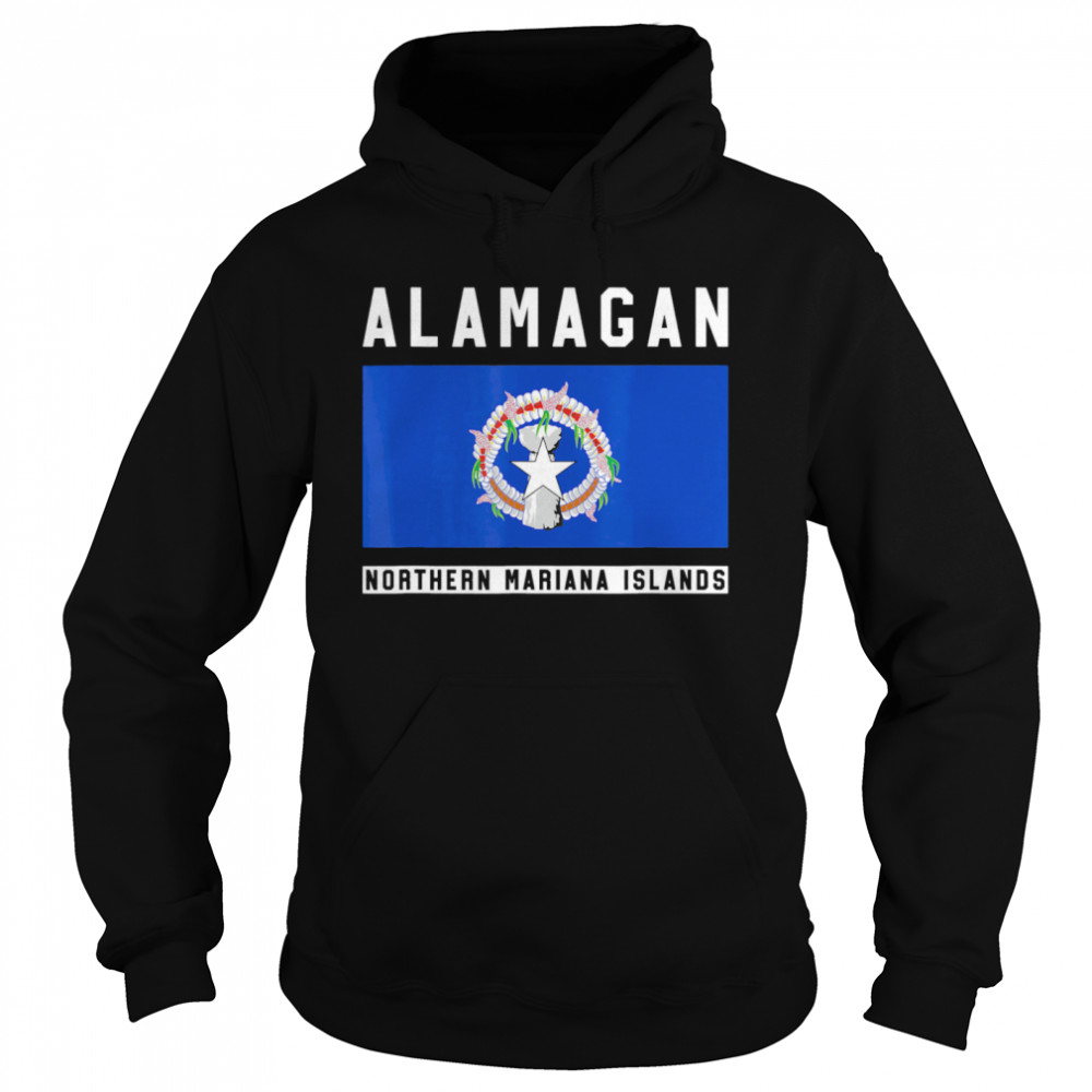 Alamagan Northern Mariana Islands  Unisex Hoodie