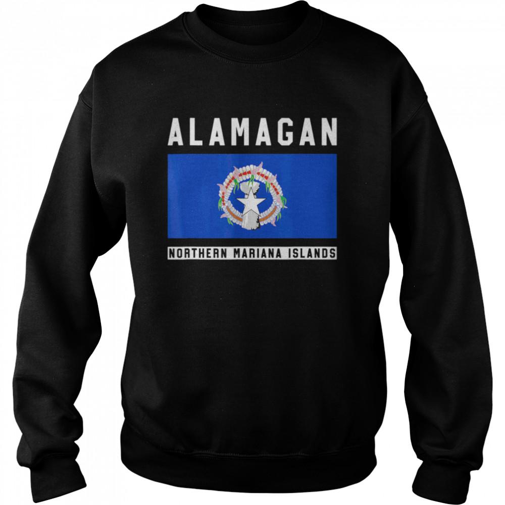 Alamagan Northern Mariana Islands  Unisex Sweatshirt