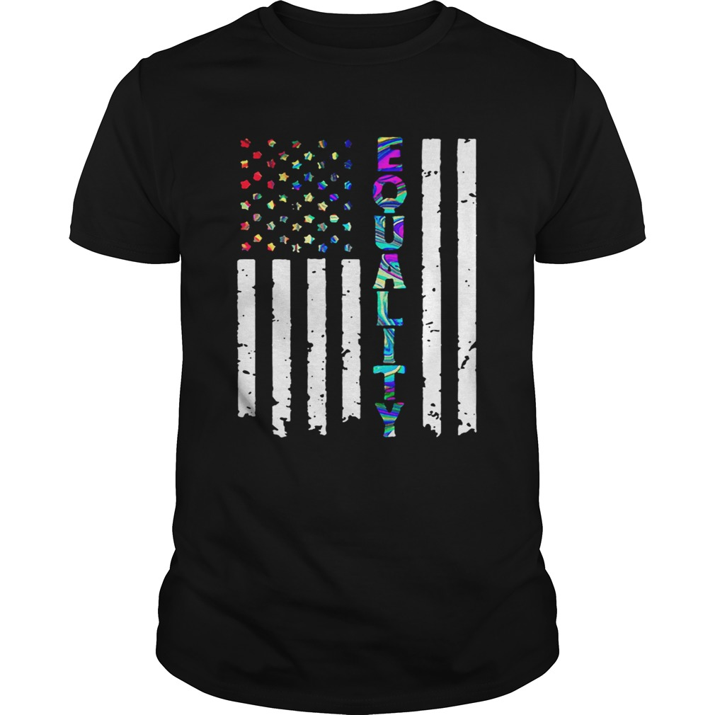 American Flag Equality 4th Of July Independence Day  Unisex