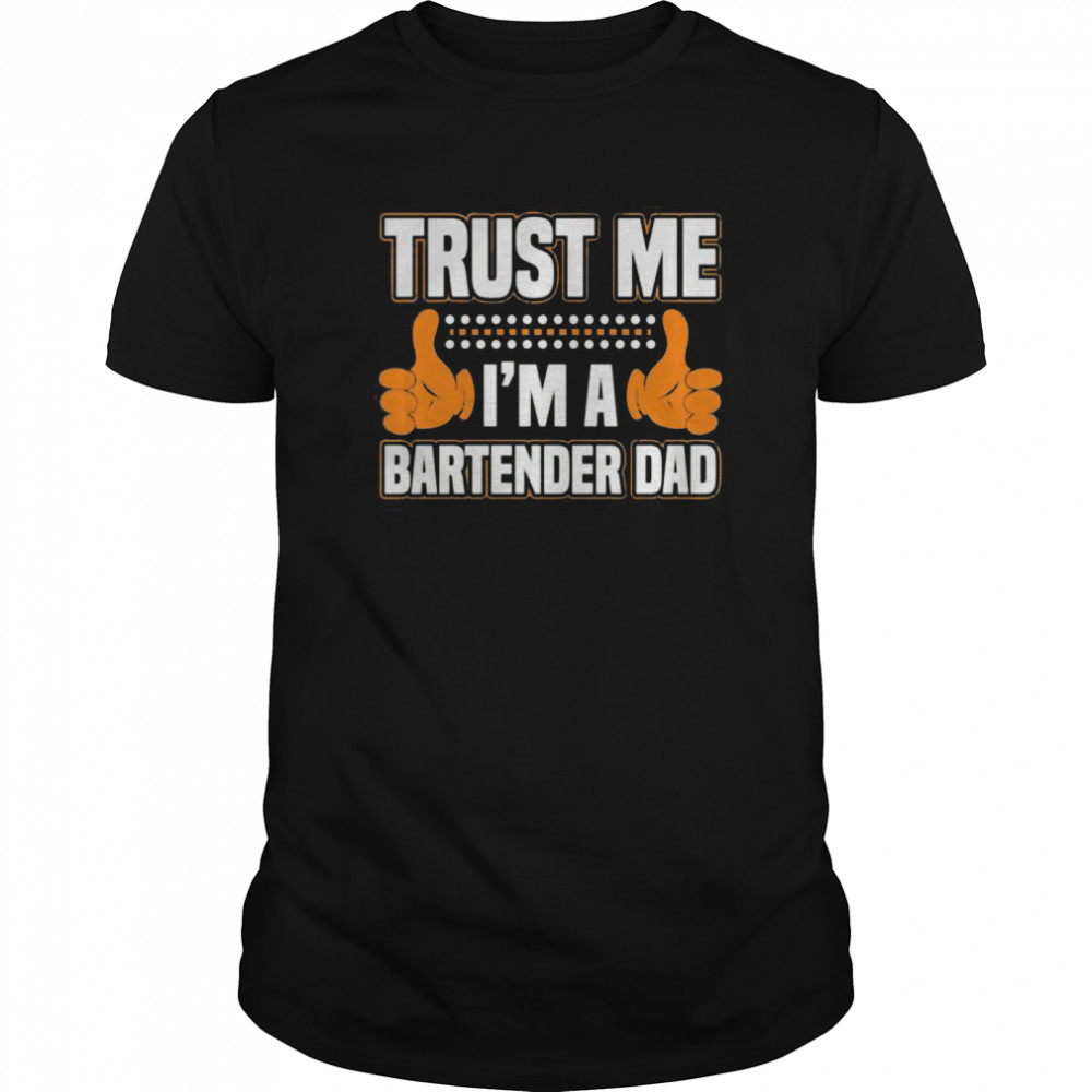 Bartender Gifts For Dad Clinical Psychologist Requirements  Classic Men's T-shirt