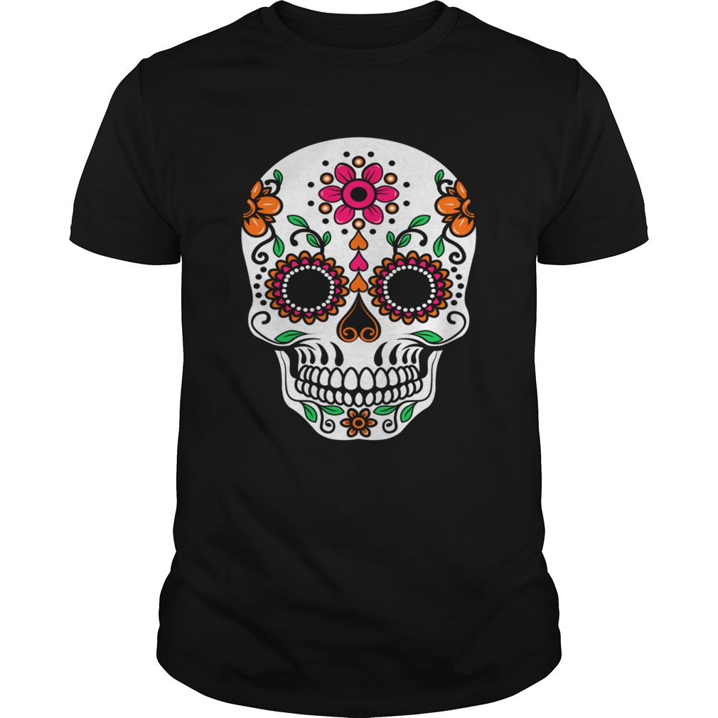 Dia De Los Muertos Sugar Skull Day Of The Dead  Unisex