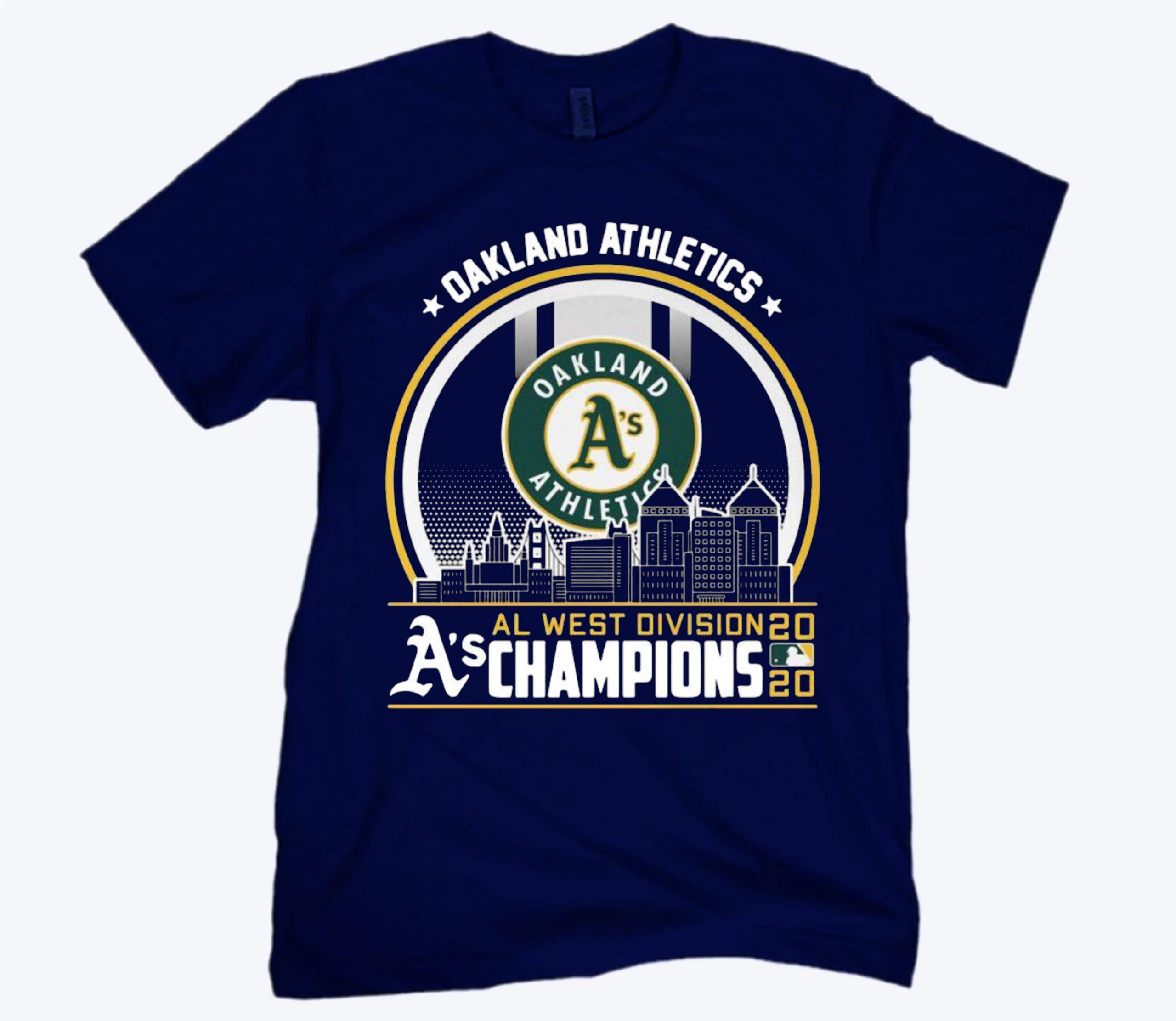 Division Champions Oakland Athletics Logo T-Shirt