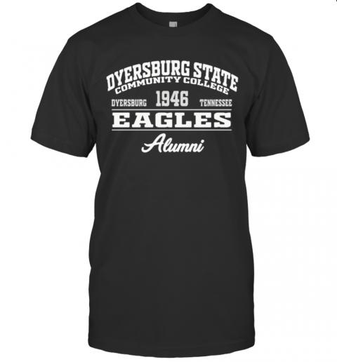 Dyersburg State Community College 1946 Dyersburg Tennessee Eagles Alumni T-Shirt Classic Men's T-shirt