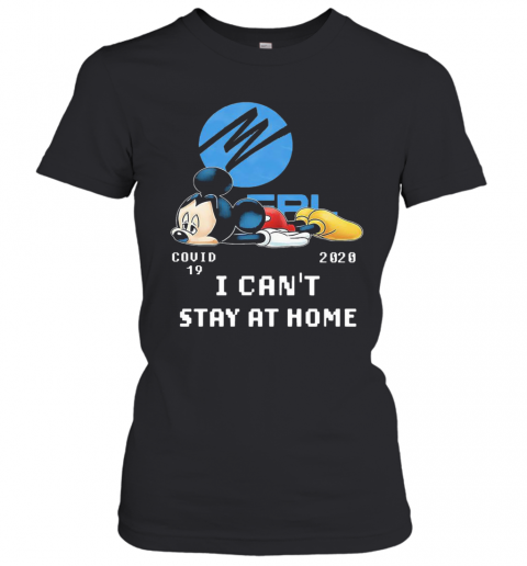Florida Power And Light Mickey Mouse Covid 19 2020 I Cant Stay At Home T-Shirt Classic Women's T-shirt