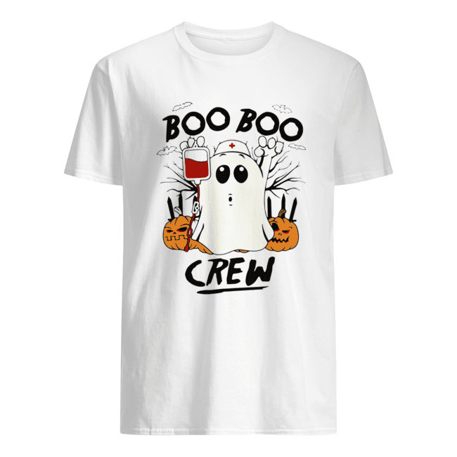 Ghost Pumpkins Nurse Boo Boo Crew Halloween  Classic Men's T-shirt