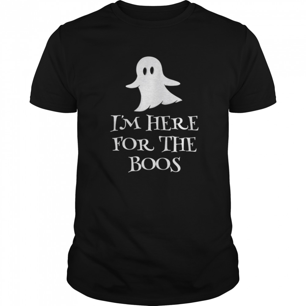 Ghostie says I'm Here for the Boos  Classic Men's T-shirt