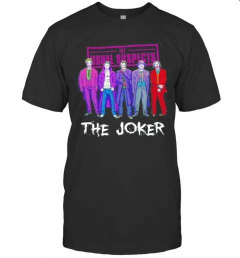 Halloween The Usual Suspects The Joker Characters T-Shirt Classic Men's T-shirt