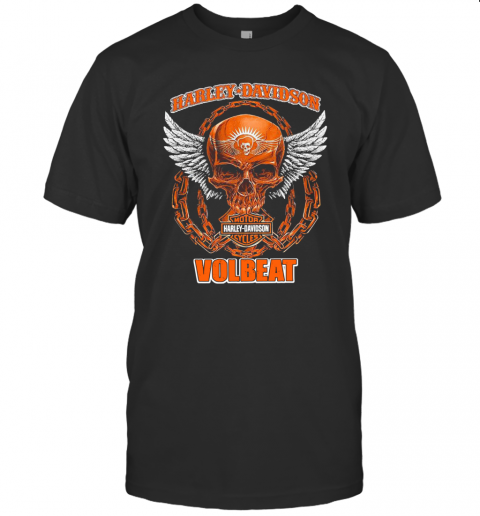 Harley Davidson Cycles Volbeat T-Shirt Classic Men's T-shirt