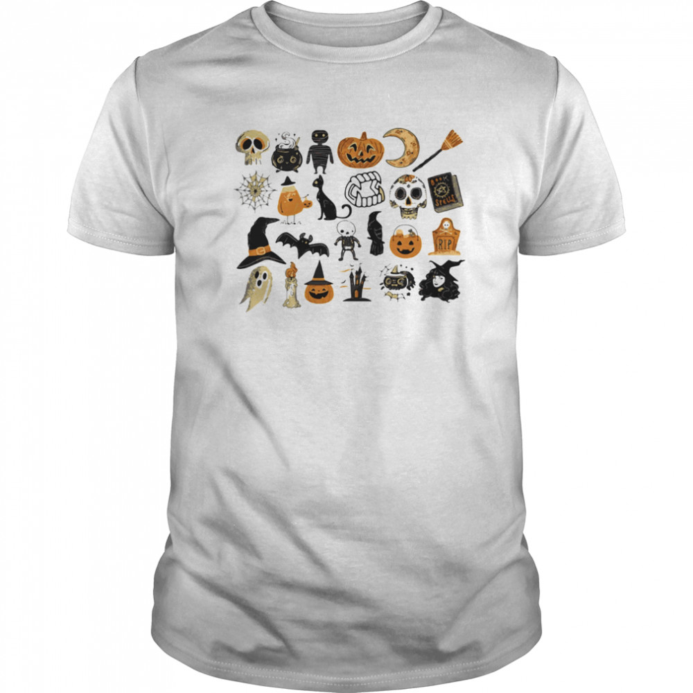 It's The Little Things Happy Halloween  Classic Men's T-shirt