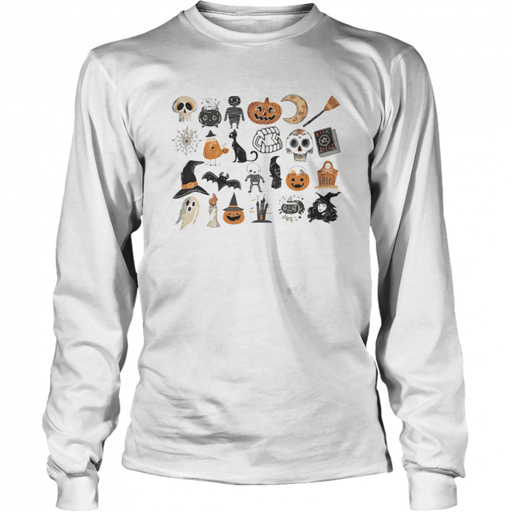 It's The Little Things Happy Halloween  Long Sleeved T-shirt