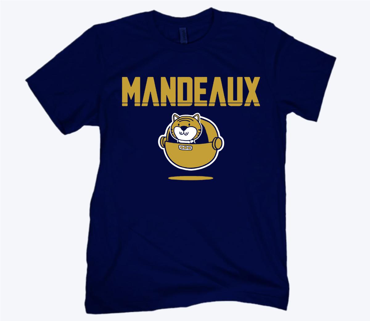 Mandeaux Baton Rouge Official T-Shirt