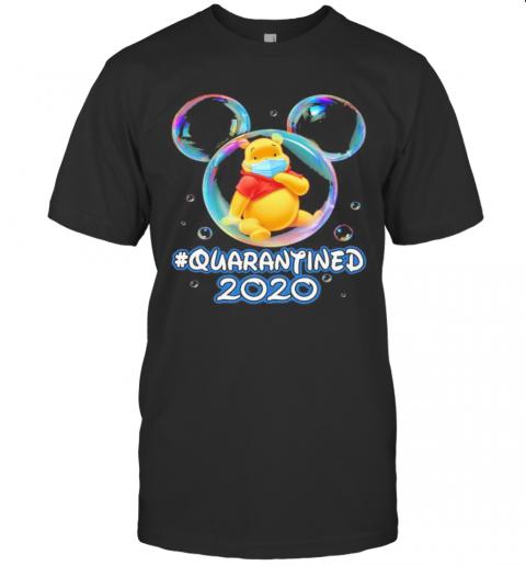 Mickey Mouse Pooh Wear Mask Quarantined 2020 T-Shirt Classic Men's T-shirt