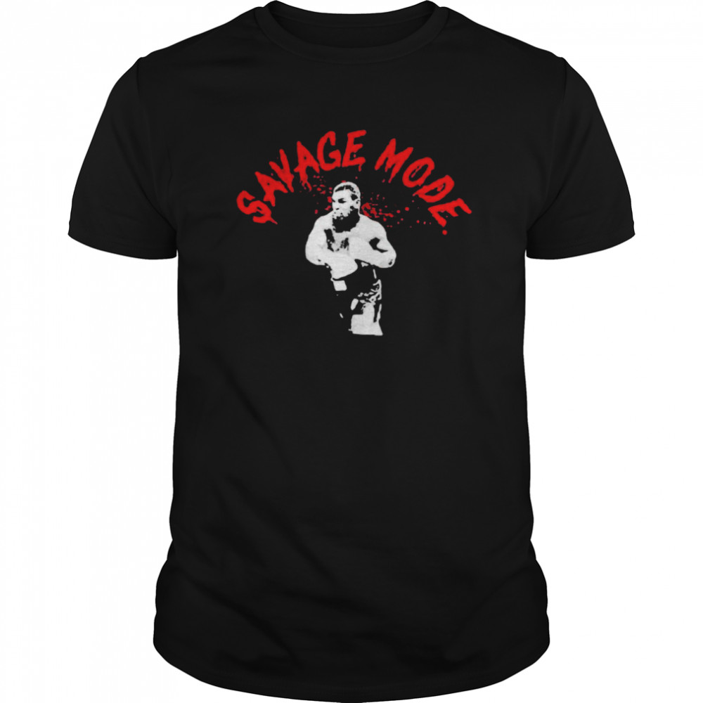 Mike Tyson Savage Mode  Classic Men's T-shirt