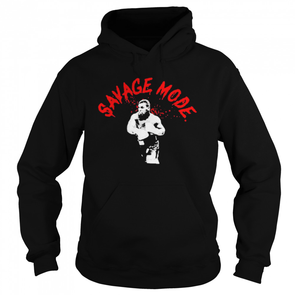 Mike Tyson Savage Mode  Unisex Hoodie