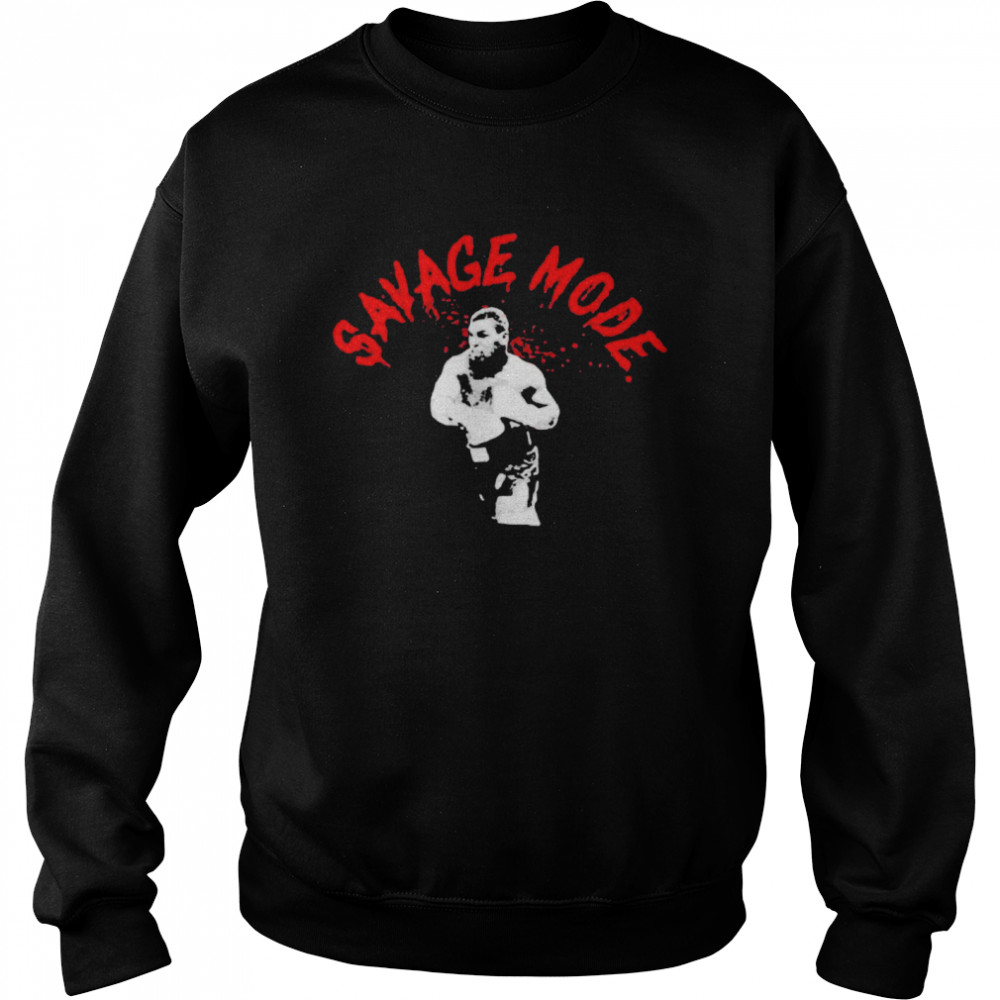 Mike Tyson Savage Mode  Unisex Sweatshirt
