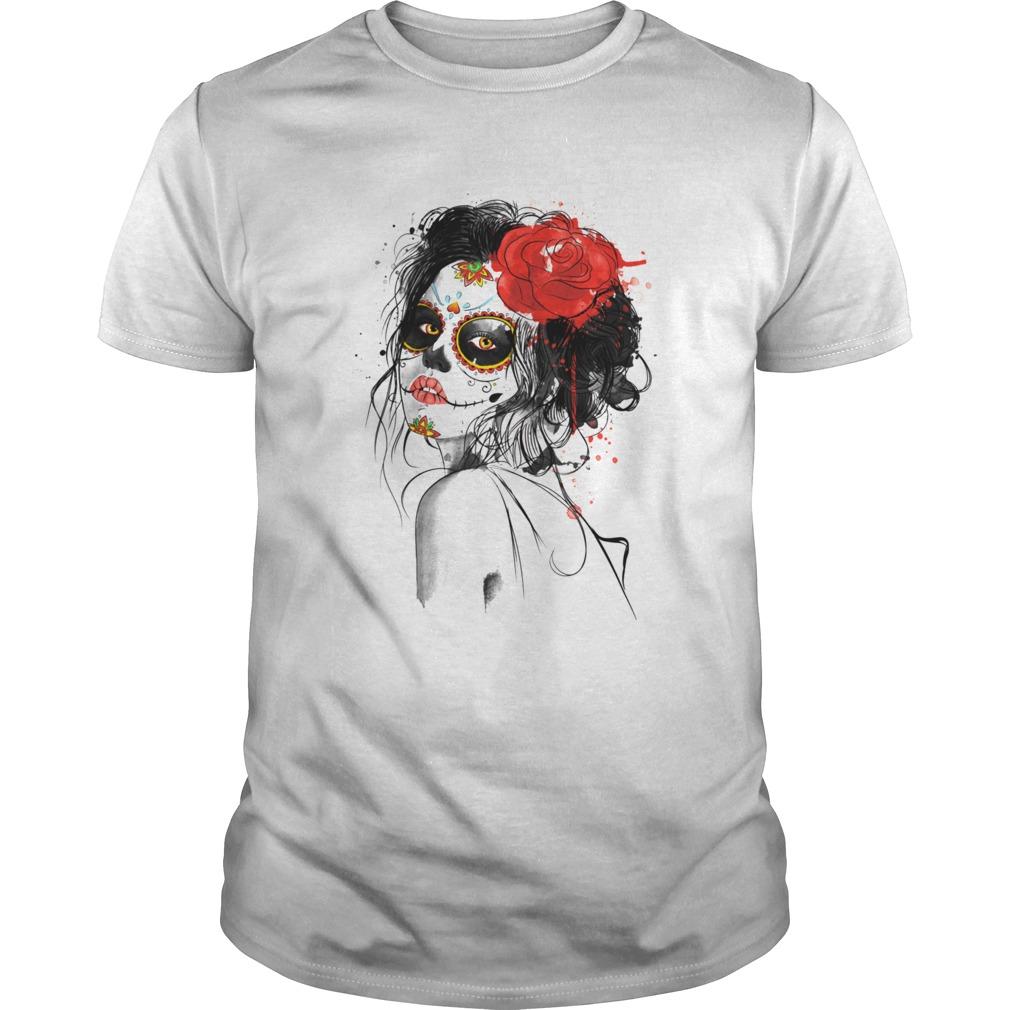 Muertos Day Of The Dead Sugar Skull Girl  Unisex