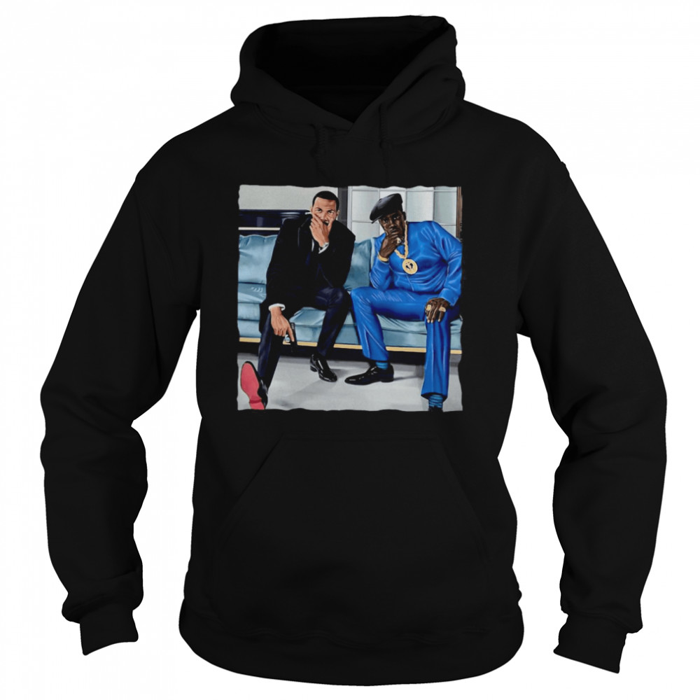 Nino Brown And Ghost  Unisex Hoodie