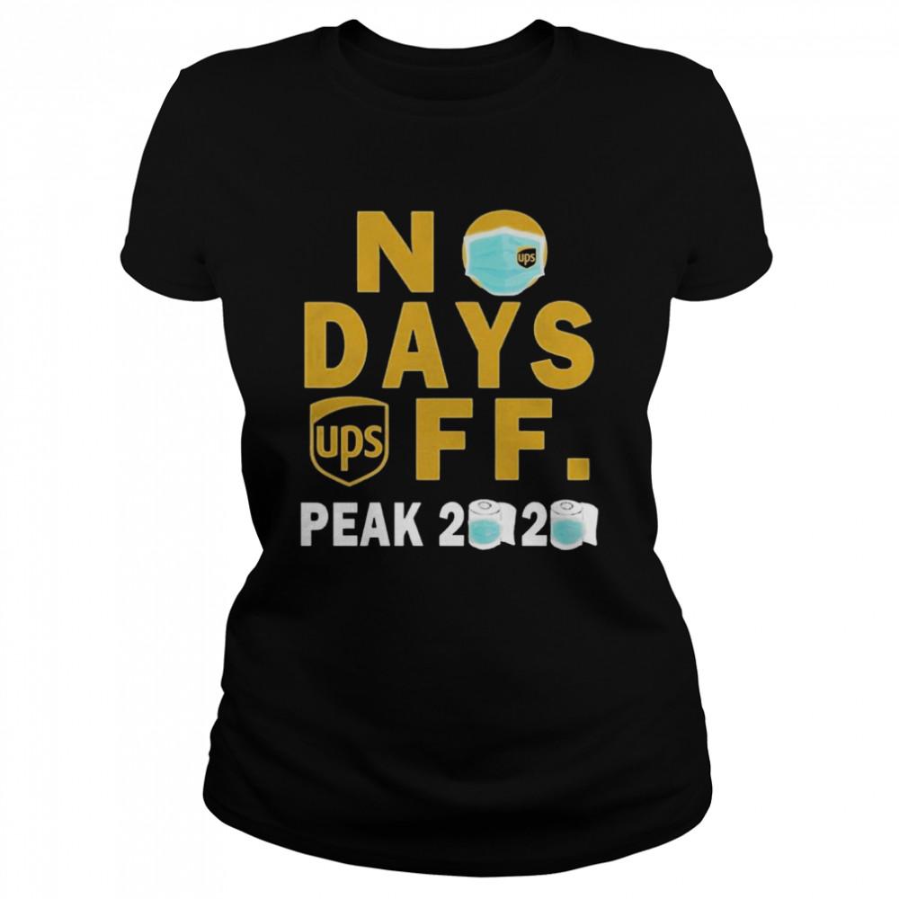 No Days Ups Off Peak 2020  Classic Women's T-shirt