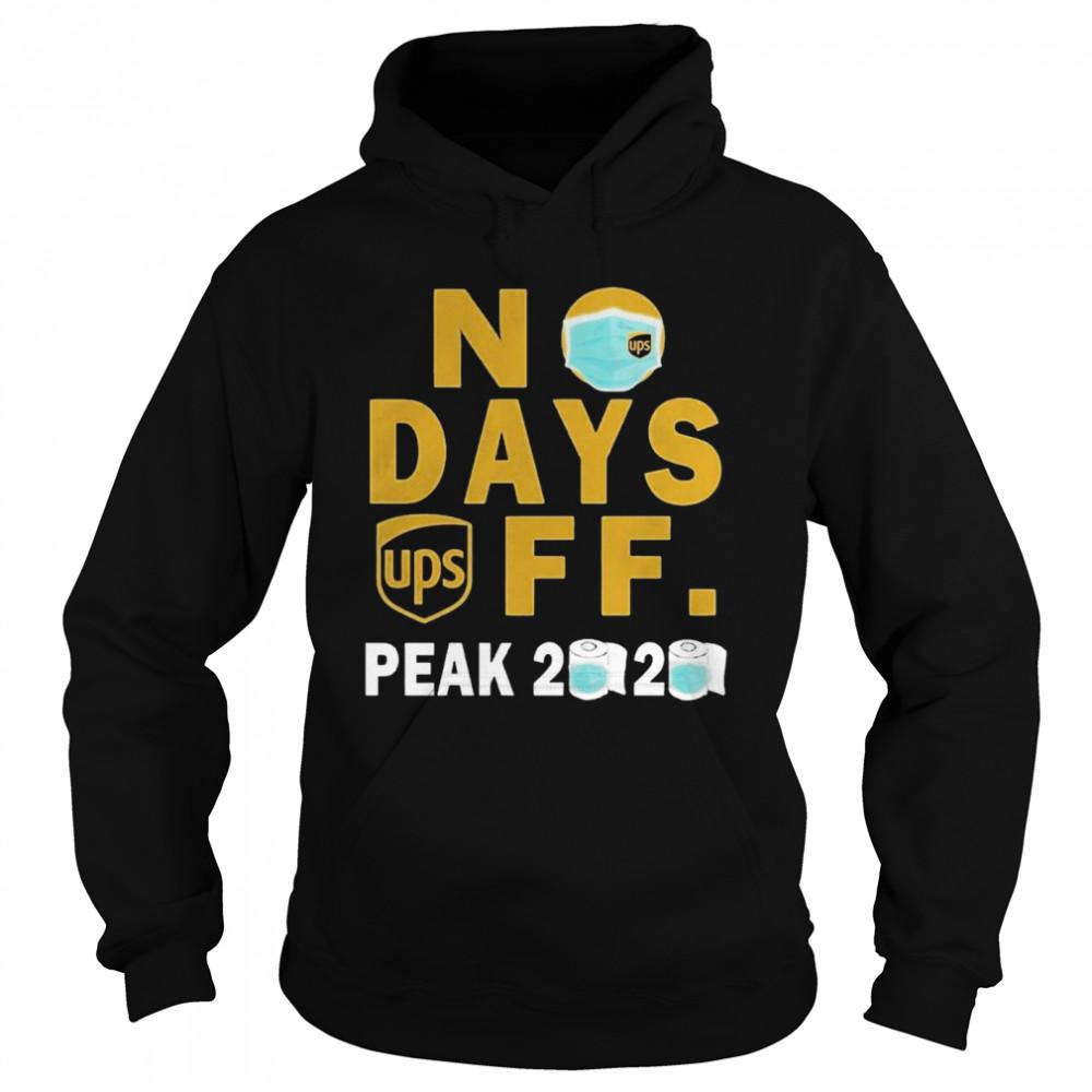 No Days Ups Off Peak 2020  Unisex Hoodie