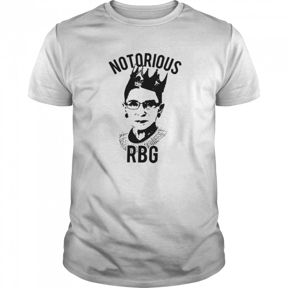 Notorious RBG Ruth Bader Ginsburg Feminist AF Supreme Court Justice  Classic Men's T-shirt