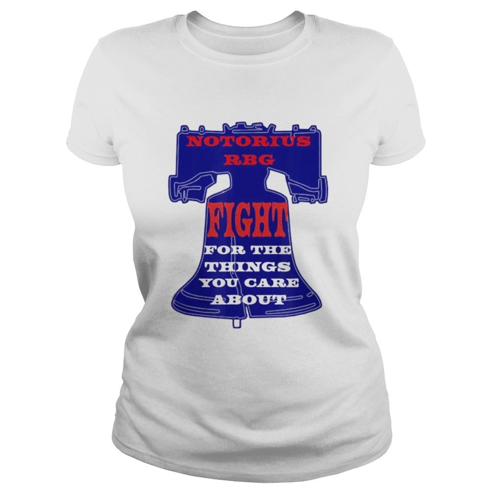 Notorious RBG Womens Shirt Ruth Ginsburg Quotes Liberty  Classic Ladies