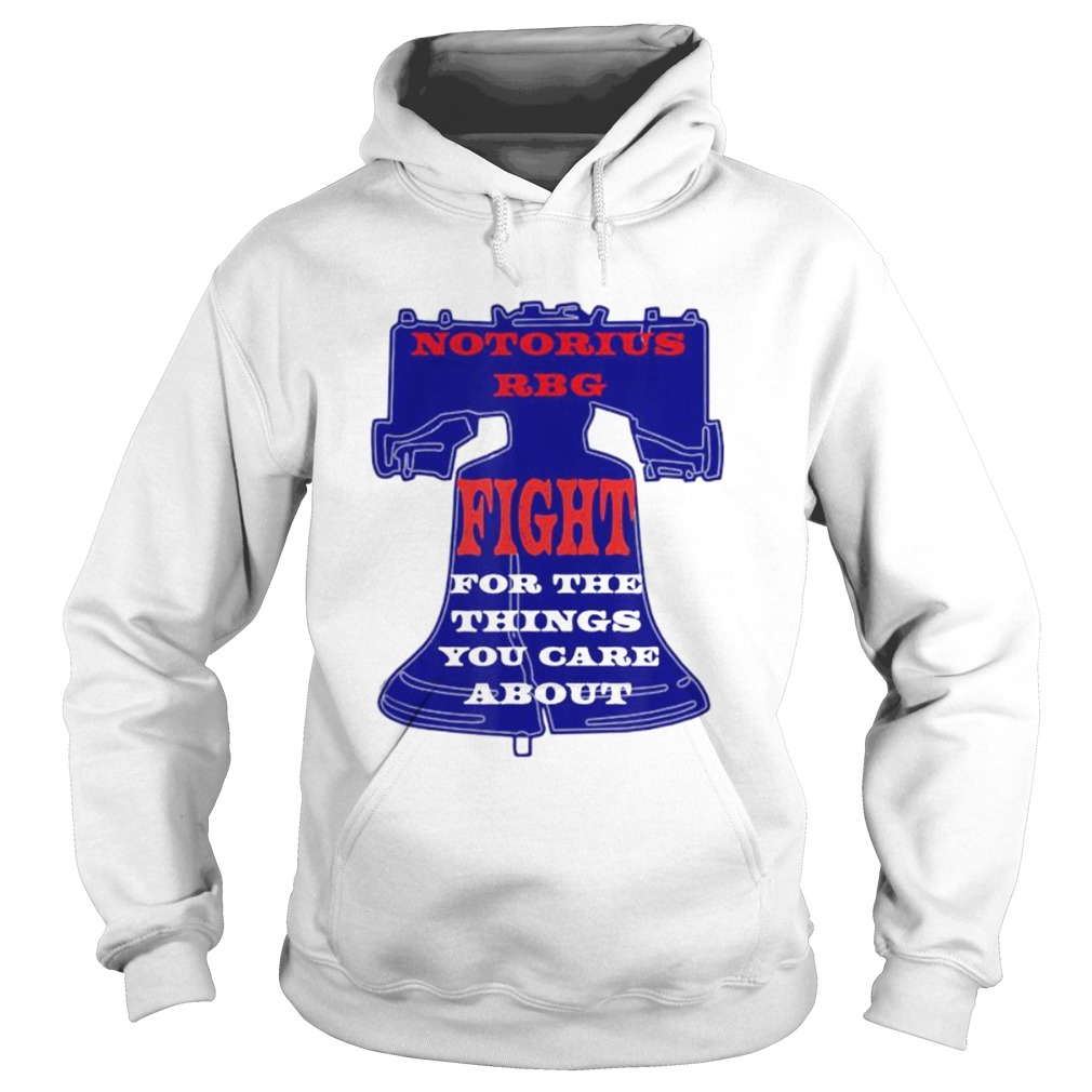 Notorious RBG Womens Shirt Ruth Ginsburg Quotes Liberty  Hoodie