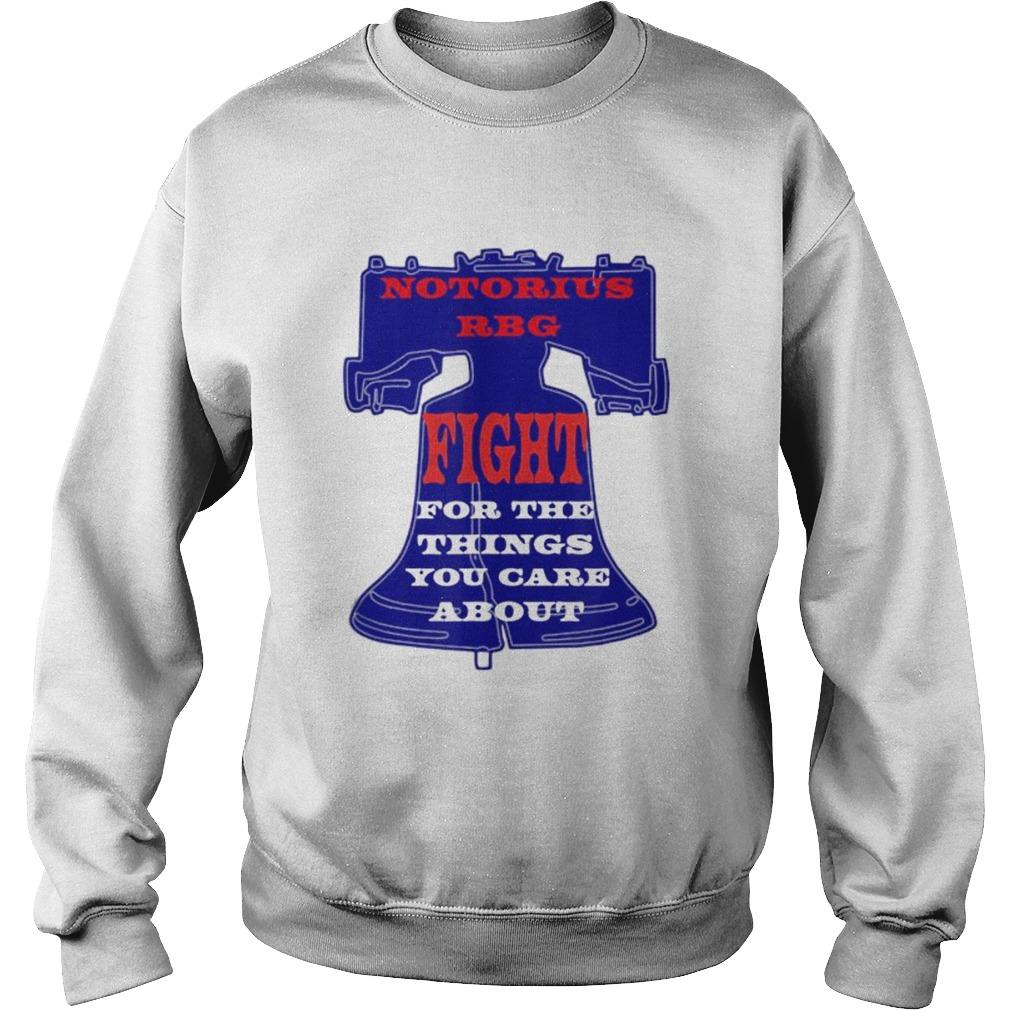 Notorious RBG Womens Shirt Ruth Ginsburg Quotes Liberty  Sweatshirt