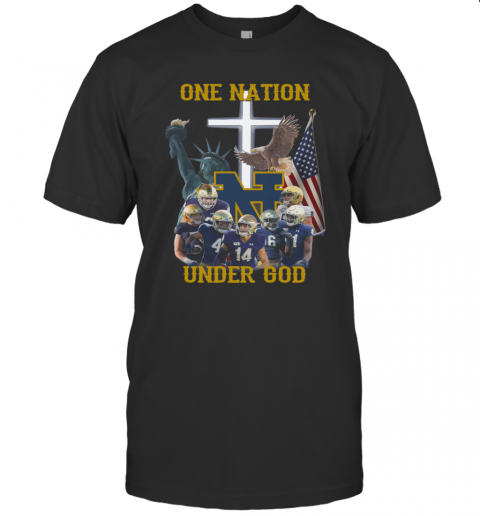 Notre Dame Irish One Nation Under God T-Shirt Classic Men's T-shirt