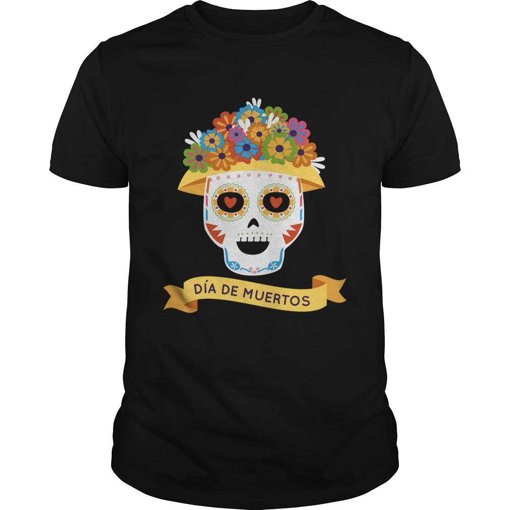 Official Sugar Skull Day Of Dead Dia De Muertos  Unisex