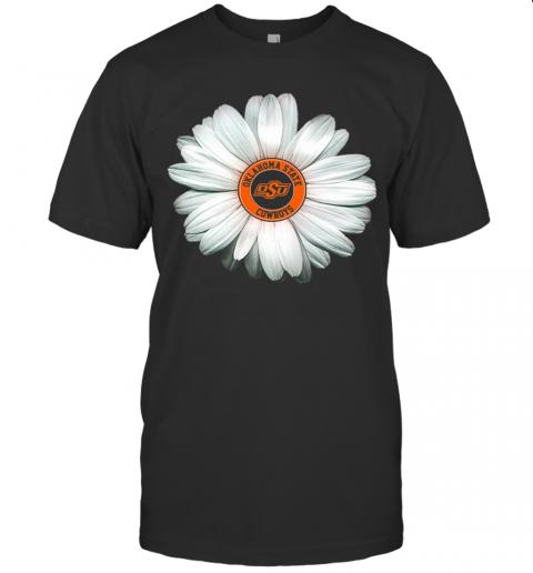 Oklahoma State Cowboys Daisy Flower T-Shirt Classic Men's T-shirt