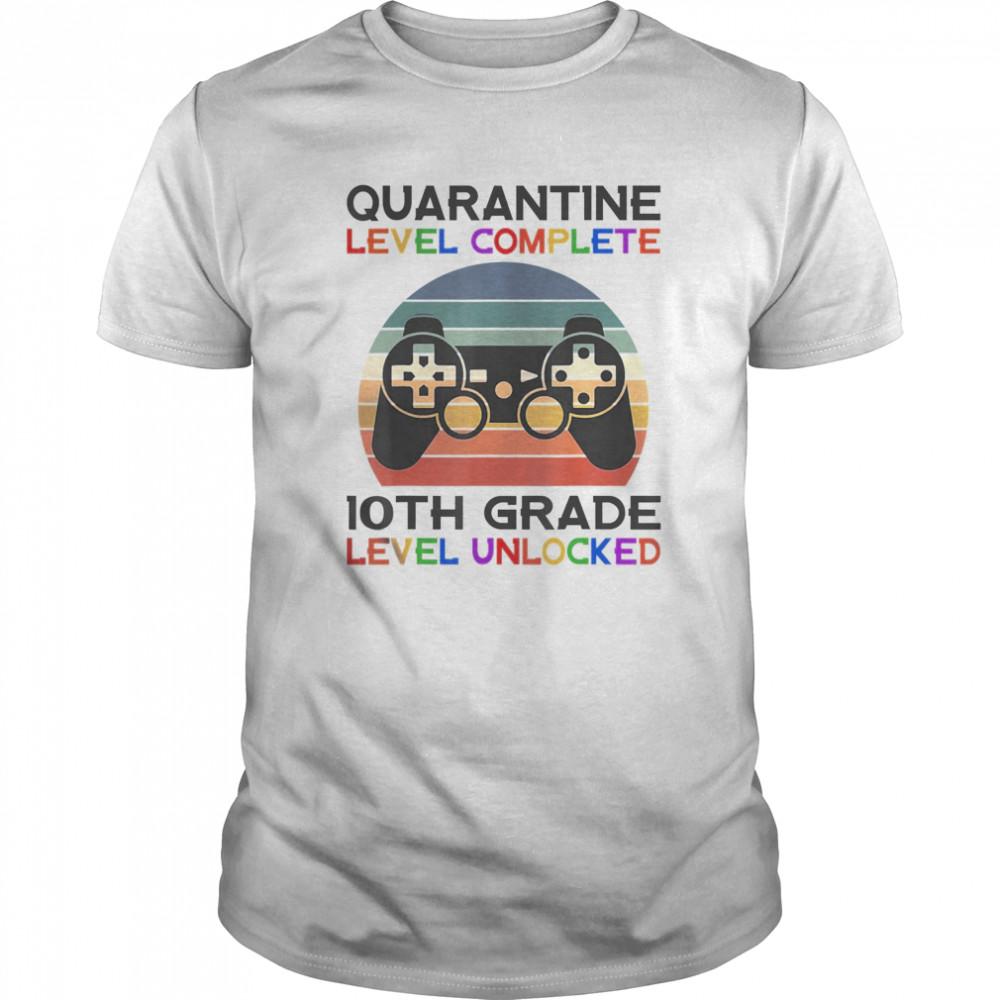 Quarantine Lever 10th Grade Unlocked School Vintage  Classic Men's T-shirt