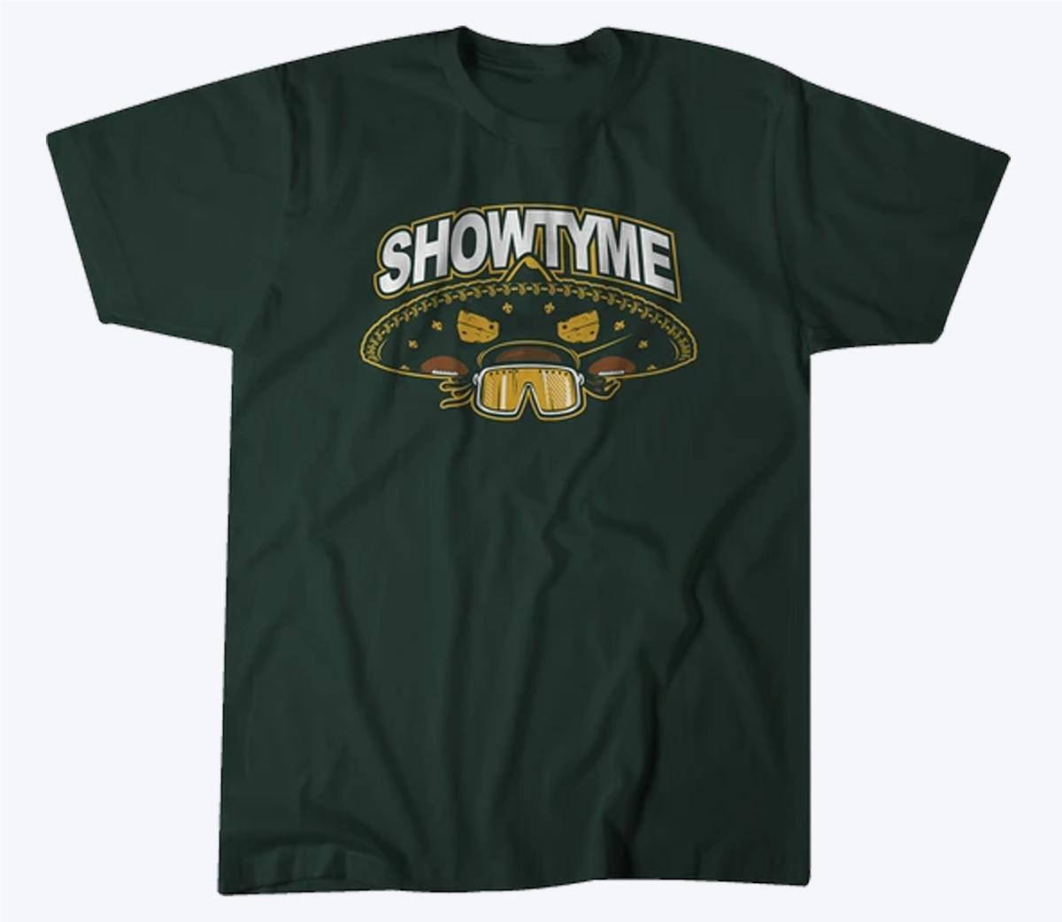 Showtyme Sombrero 2020 T-Shirt - Green Bay Football