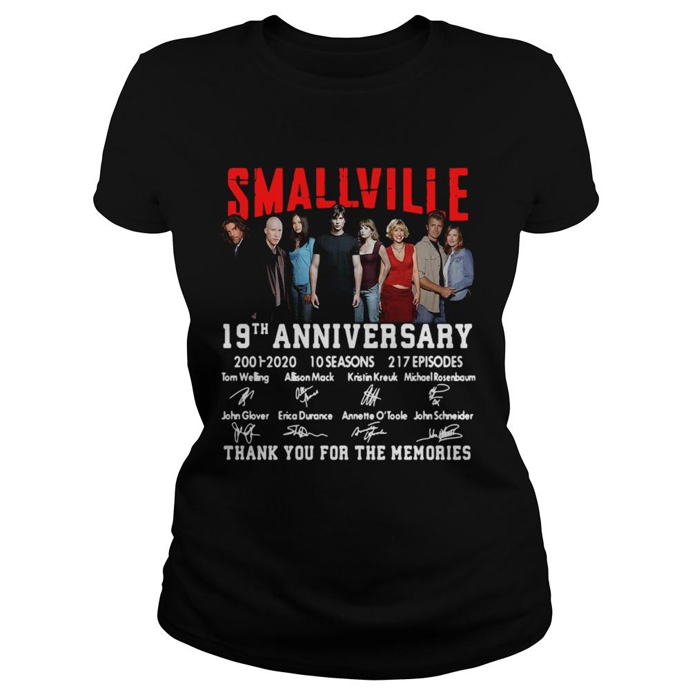 Smallville 19th Anniversary 2001 2020 10 Seasons 217 Episodes Signature  Classic Ladies