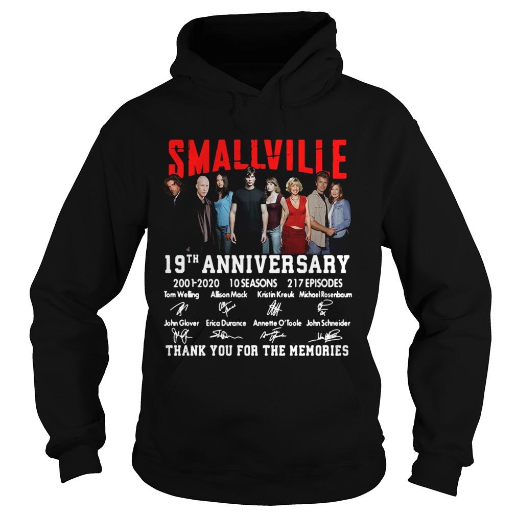 Smallville 19th Anniversary 2001 2020 10 Seasons 217 Episodes Signature  Hoodie