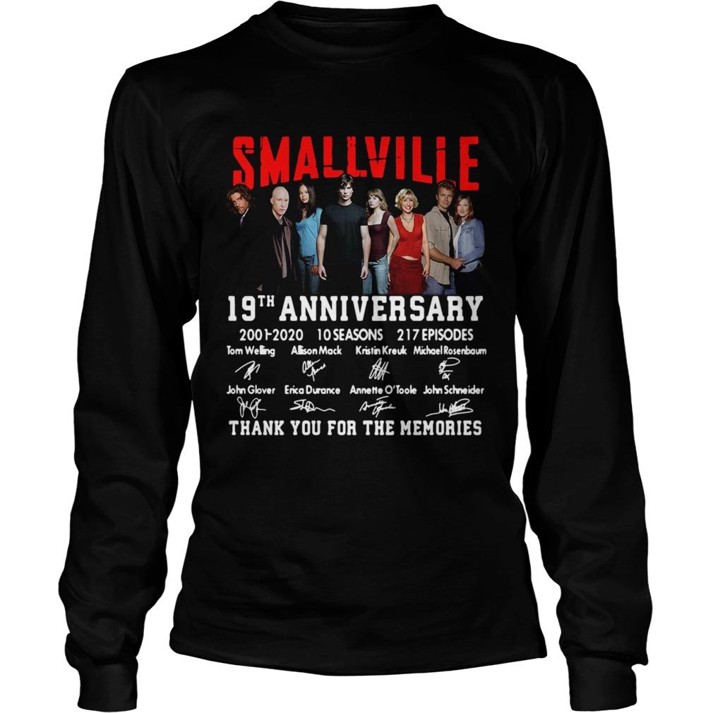 Smallville 19th Anniversary 2001 2020 10 Seasons 217 Episodes Signature  Long Sleeve