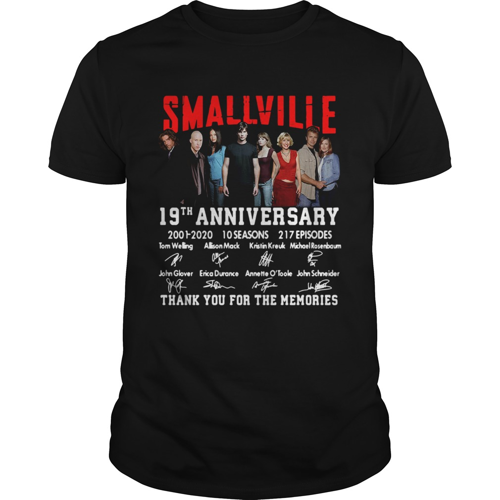 Smallville 19th Anniversary 2001 2020 10 Seasons 217 Episodes Signature  Unisex