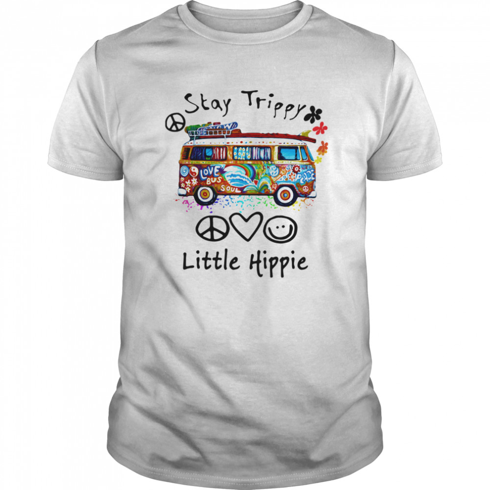 Stay Trippy Little Hippie  Classic Men's T-shirt