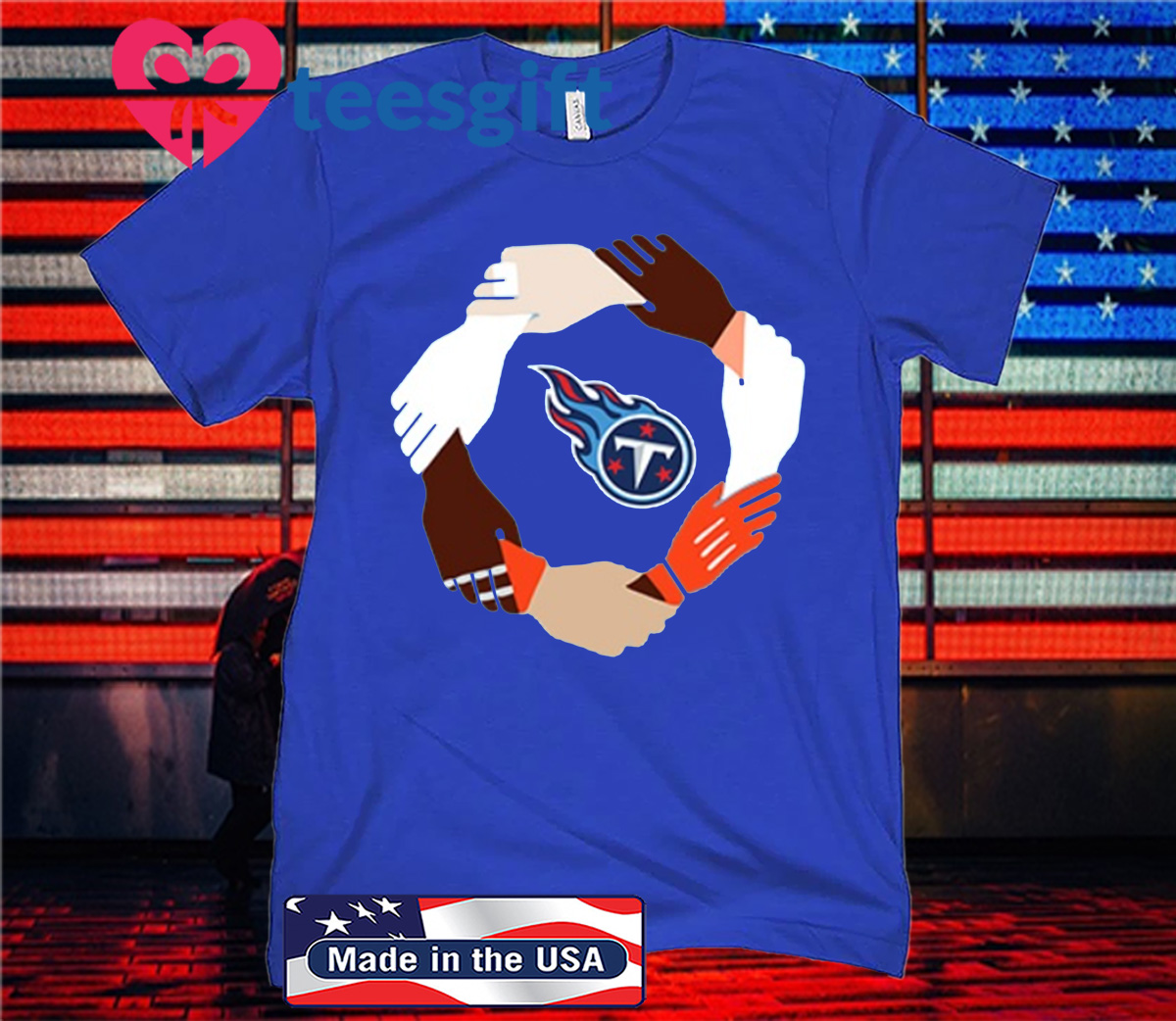 Tennessee Titans Hand By Hand Shirt