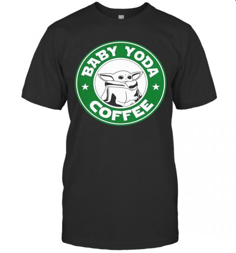 The Mandalorian Baby Yoda Coffee T-Shirt Classic Men's T-shirt