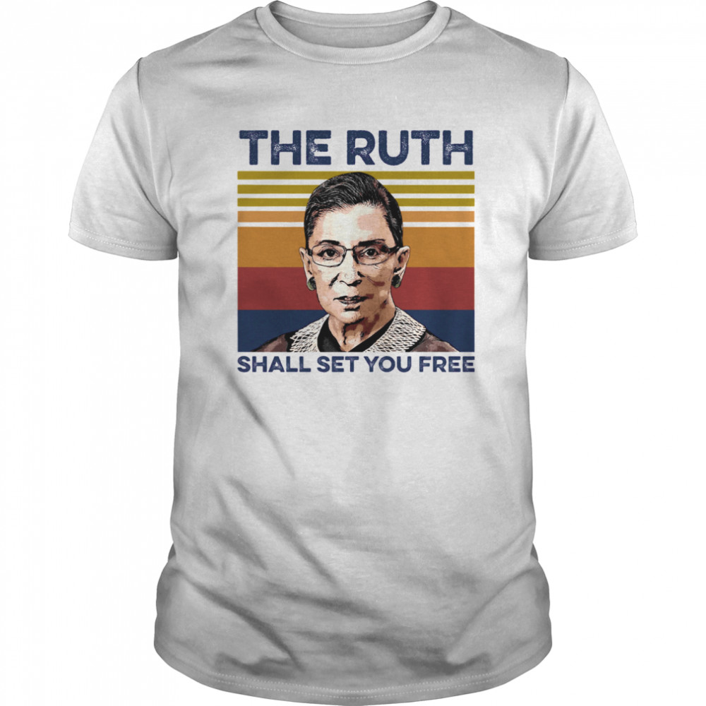 The Ruth Shall Set You Free  Classic Men's T-shirt