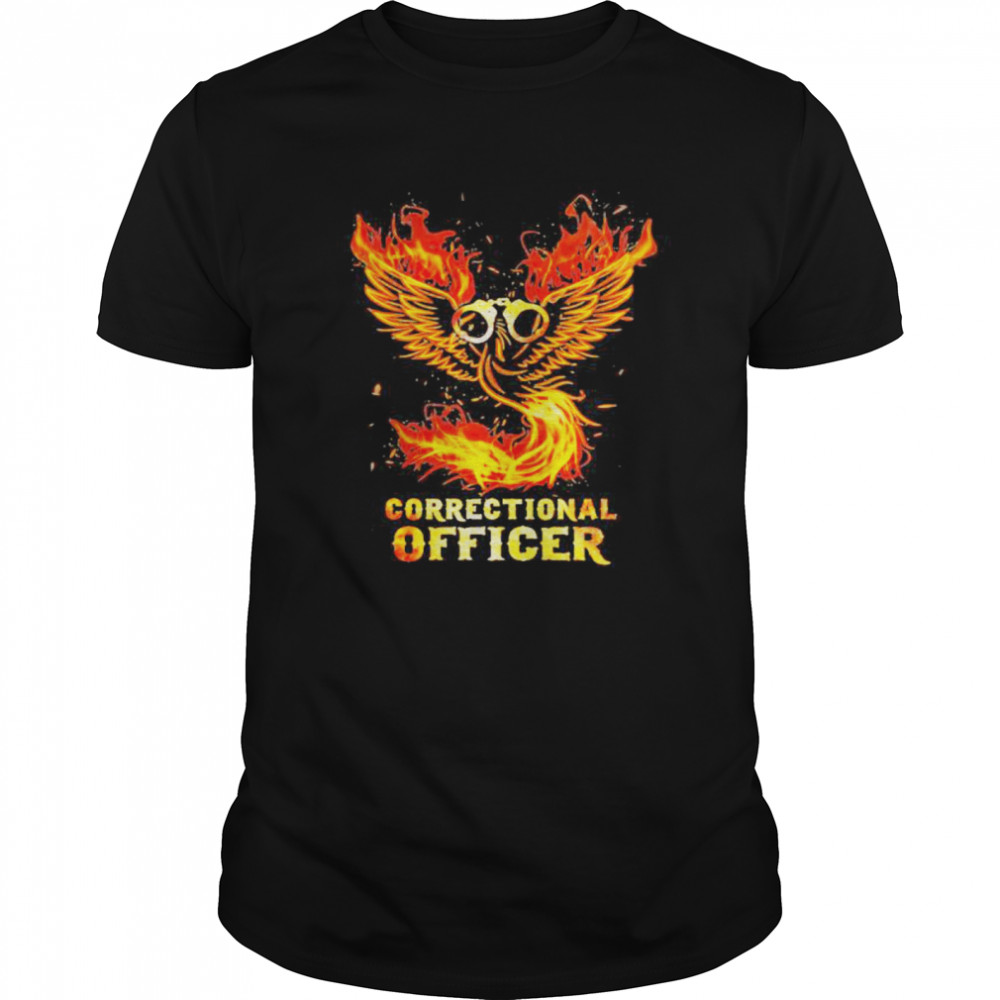Wings fire correctional officer  Classic Men's T-shirt
