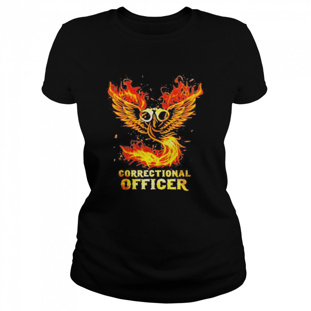 Wings fire correctional officer  Classic Women's T-shirt