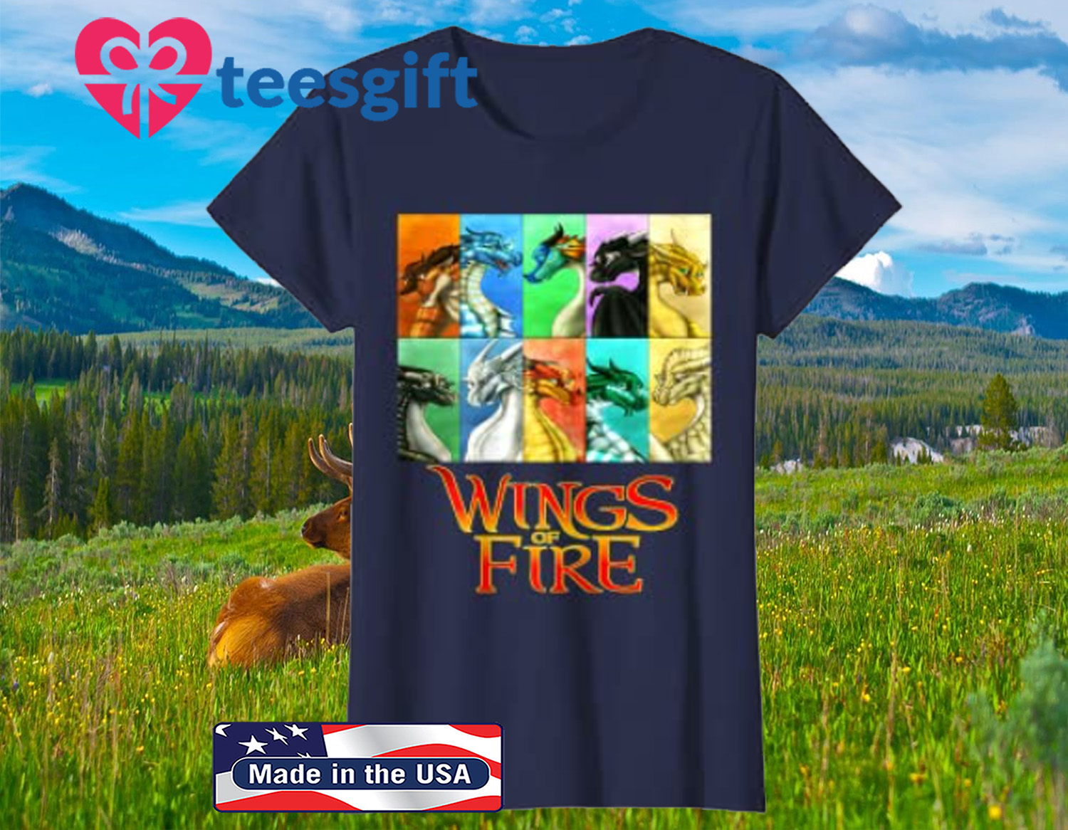 Wings Of Fire - All Together Men Women Kids Gift Shirt