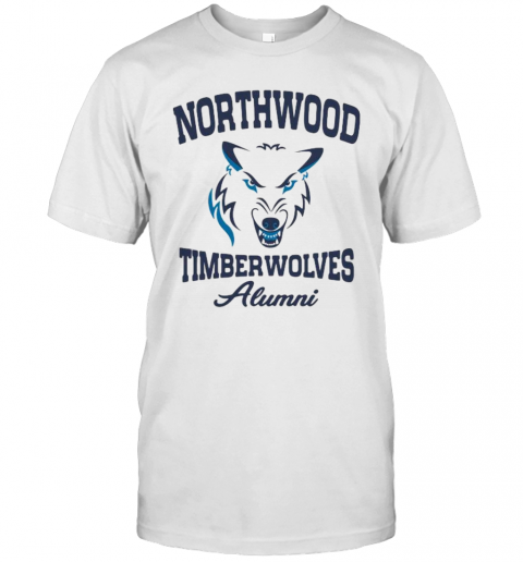 Wolf Northwood Timberwolves Alumni T-Shirt Classic Men's T-shirt