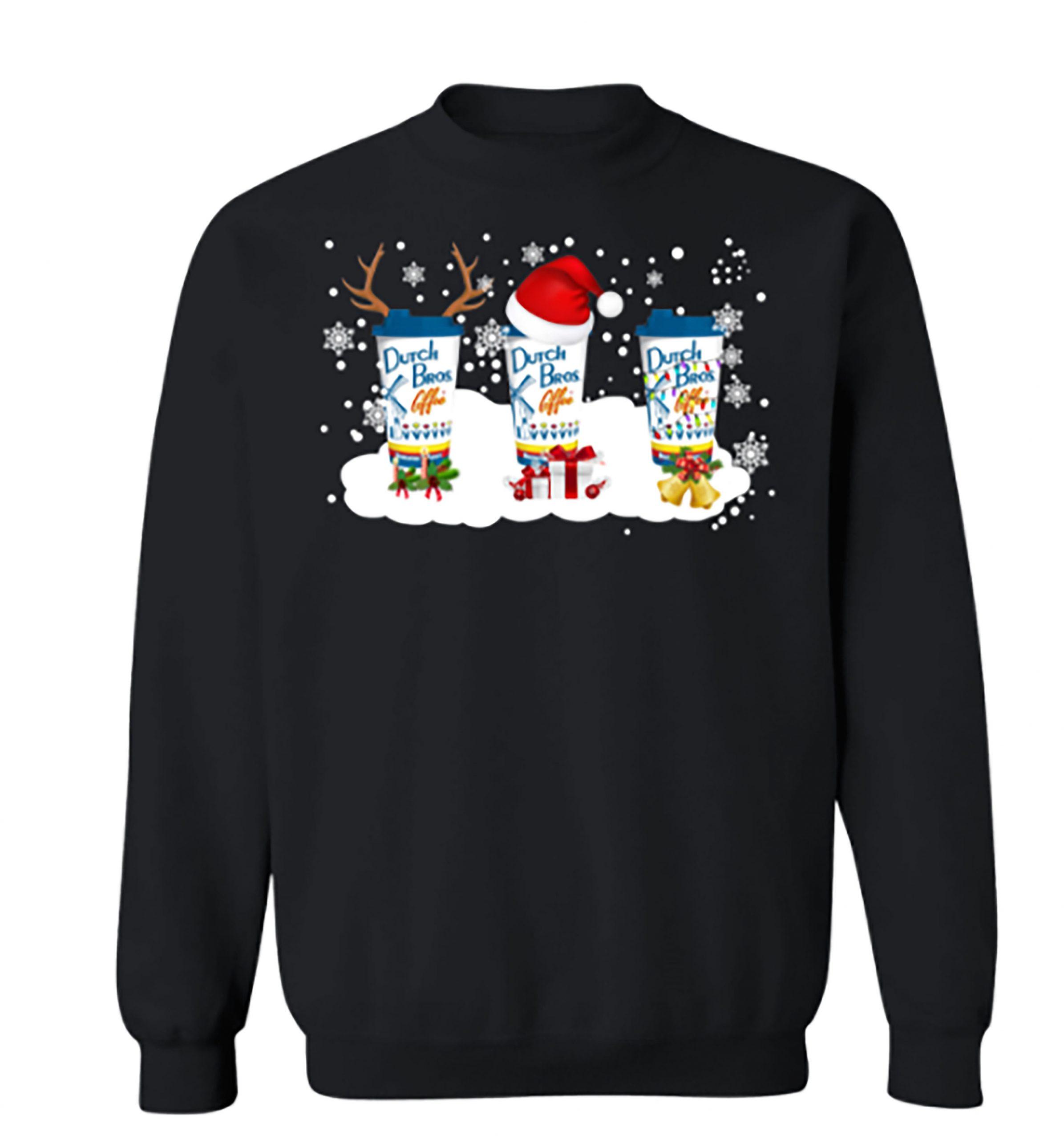Dutch Bros Coffee Christmas Sweater Shirt