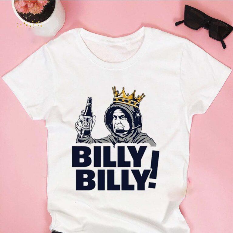 Bill Belichick Billy Billy New England Patriots T-Shirt