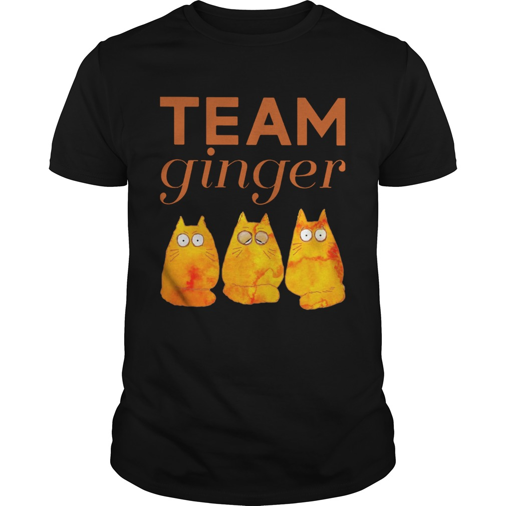 Cat Team Ginger  Unisex