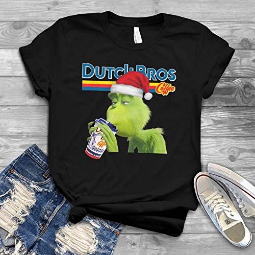 Grinch Xmas Ugly Dutch Bros Coffee T-Shirt
