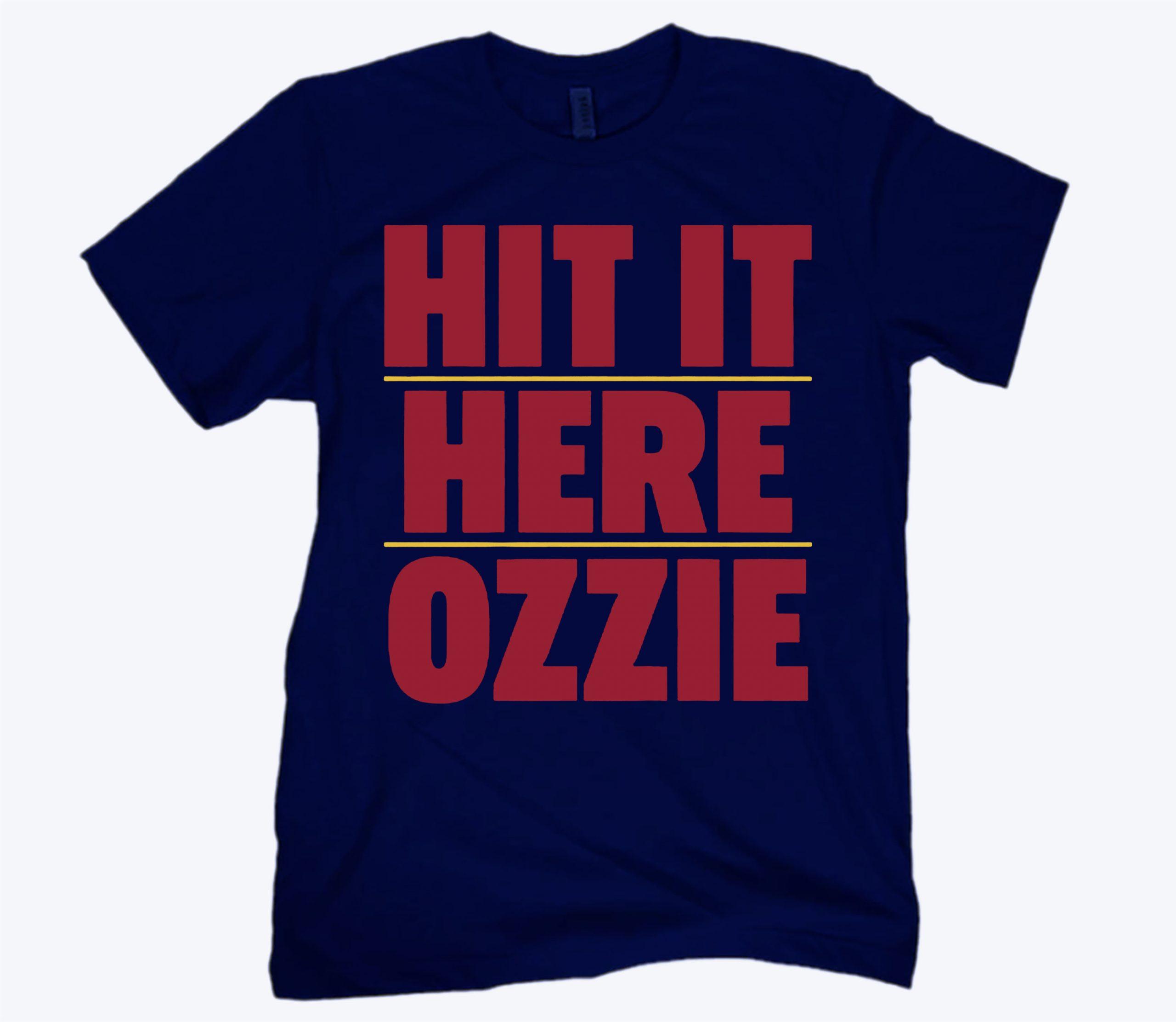 Hit it Here Ozzie Atlanta T-Shirt